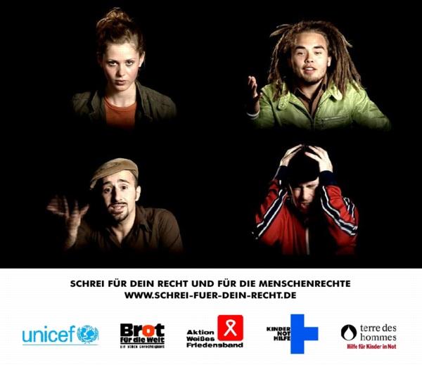 Webportal Schrei für dein Recht (2005-2007)
